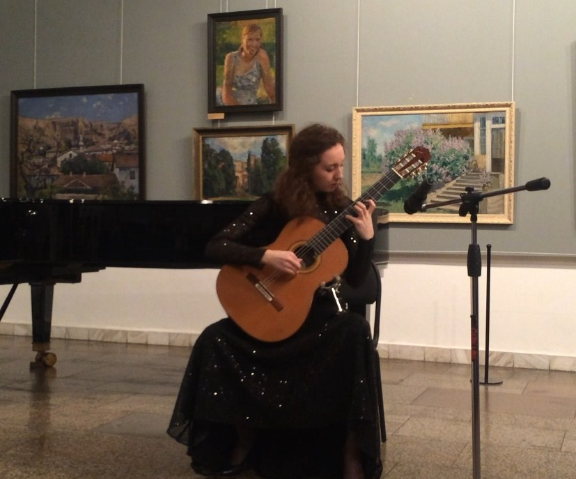 Концерт в Новокузнецком художественном музее
