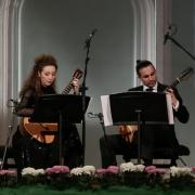 Дуэт с Артёмом Дервоедом на гитарах XIX века